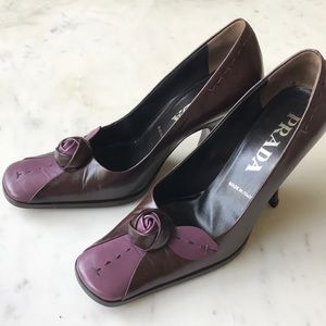 Prada women's heeled pumps 35